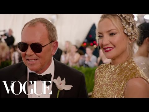 Michael Kors and Kate Hudson at the Met Gala 2015 | China: Through the Looking Glass