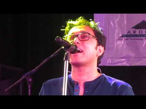Anupam Roy live performance at FIEM Flamz 2016