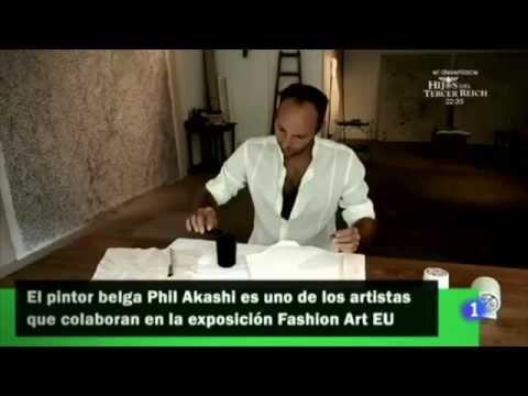 Flash Moda on TVE - Phil Akashi & Fashion Art EU