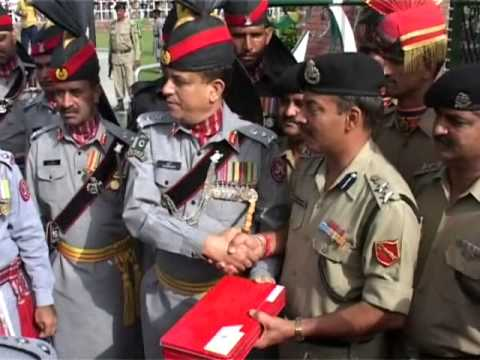 Indo-Pak Border I Officers Exchange Sweets I Independence Days
