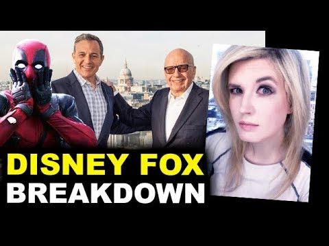 Disney Fox Deal BREAKDOWN - Marvel, Deadpool, Avatar, The Simpsons