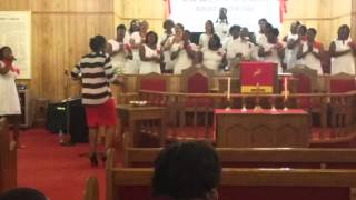 NEW SALEM MB CHURCH SINGING IT WASN'T THE NAILS