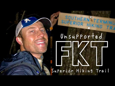 2019 Superior Hiking Trail Fastest Known Time (unsupported)