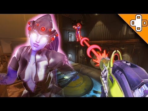 WIDOWMAKER GHOST SNIPE! Overwatch Funny & Epic Moments 415