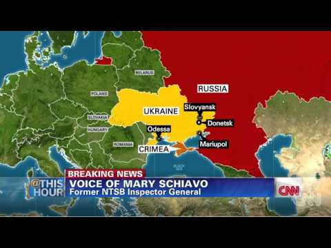 First information about Malaysian Airlines MH17 crash in east Ukraine | CNN | 17.07.2014