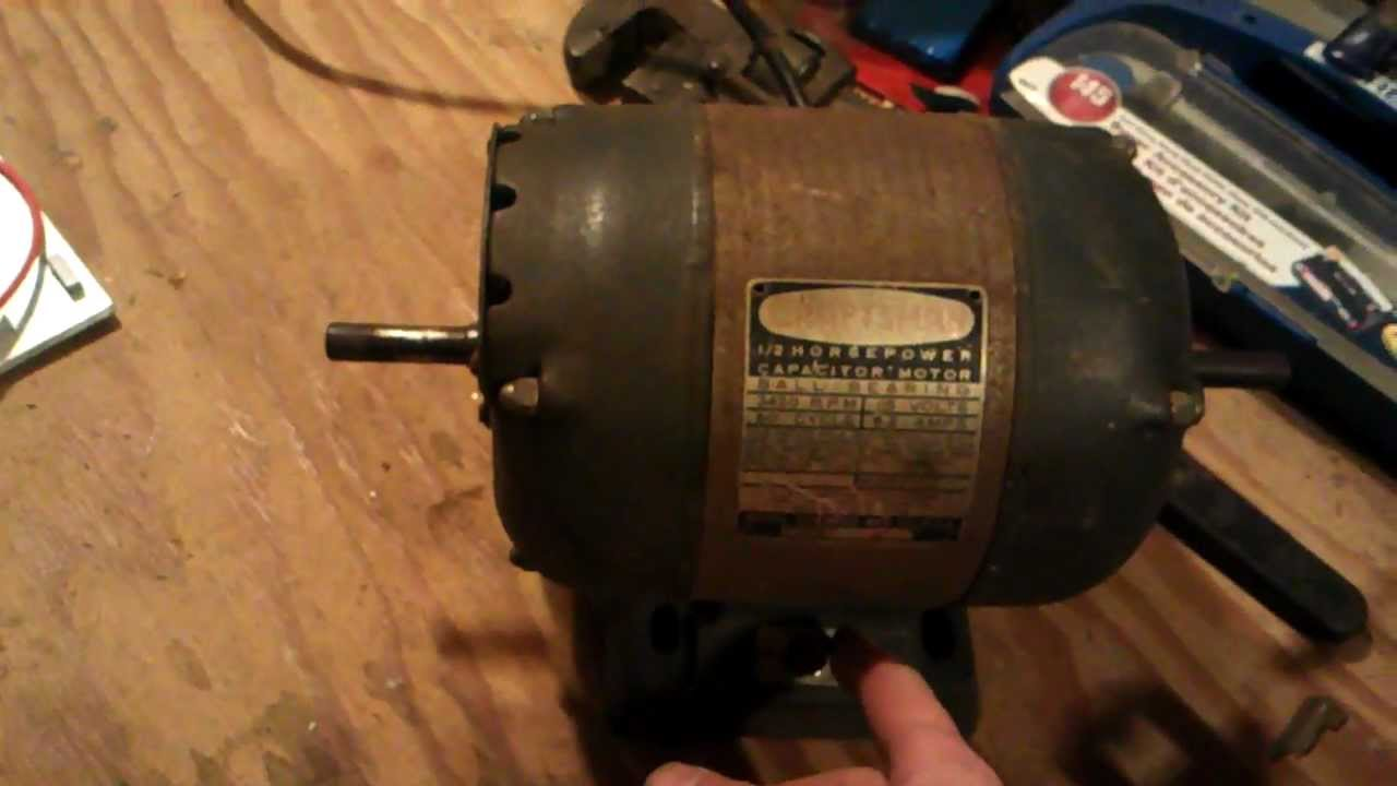 Craftsman Motor Test 01