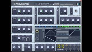 NI Massive - Dubstep Basses Sound Design - Part 1/2