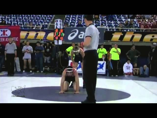 138 LBS - 1st - Taner Trembley vs. Alex Mossing (Foxfire WC)