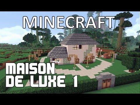 Minecraft maison de luxe 1 youtube for Maison de luxe contemporaine