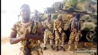 Nigerian Army Got Talent: See What The Soldiers Are Doing After A Long Day Patrol