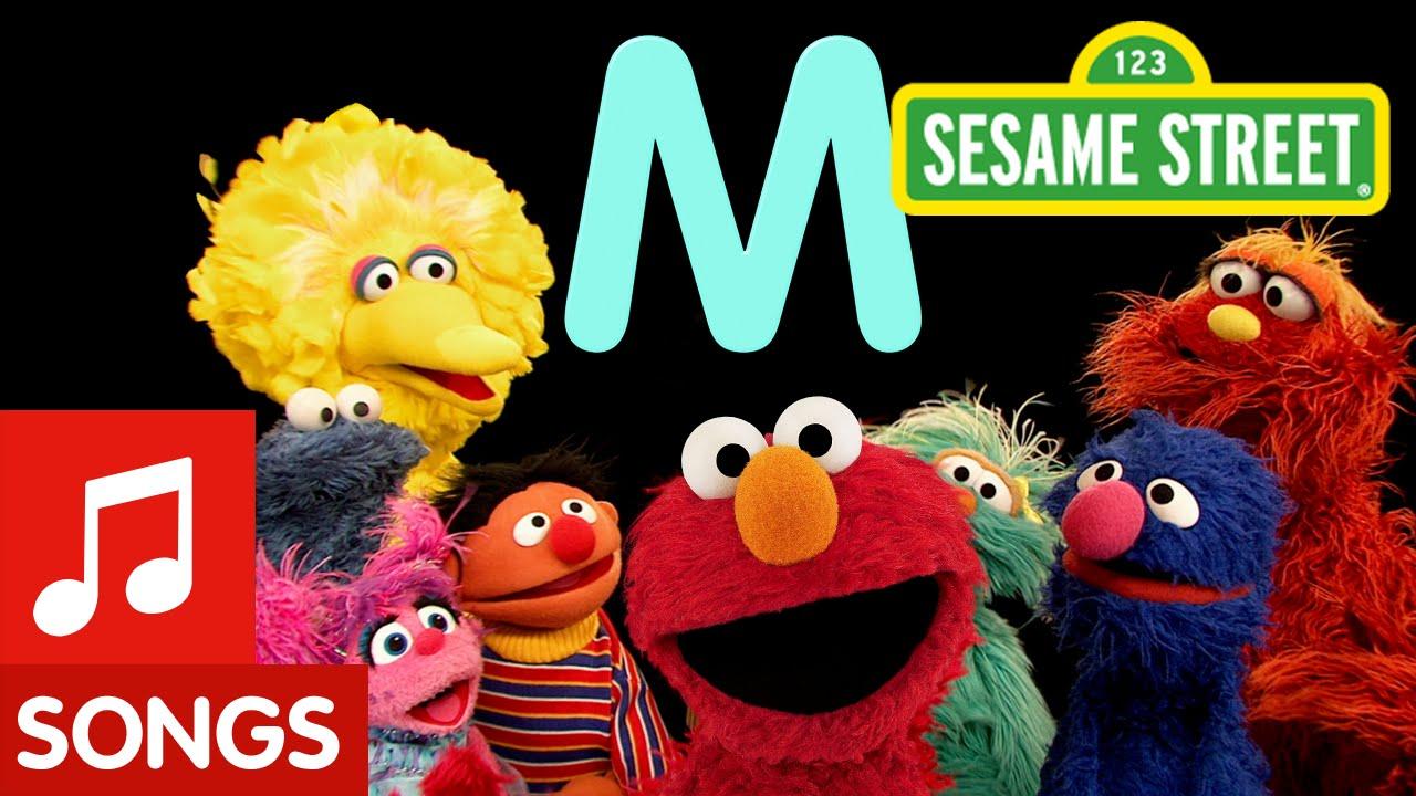 Sesame Street: Letter M (Letter of the Day) - YouTube