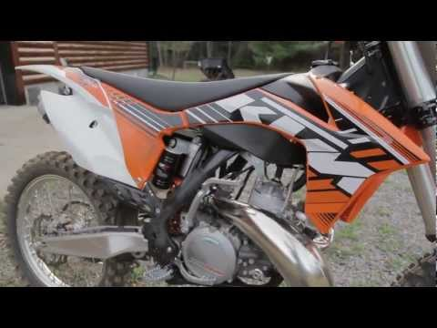 2012 KTM 250 SX IDLE AND REV UP   APRIL 2012
