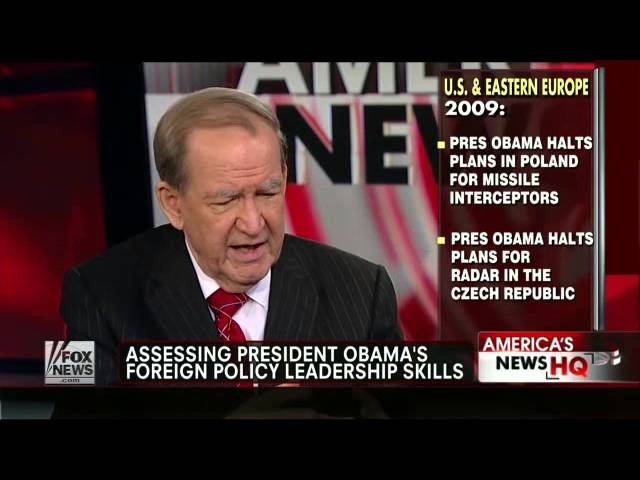 Pat Buchanan: Obama Has More Confidence In Globalism Than U.S.