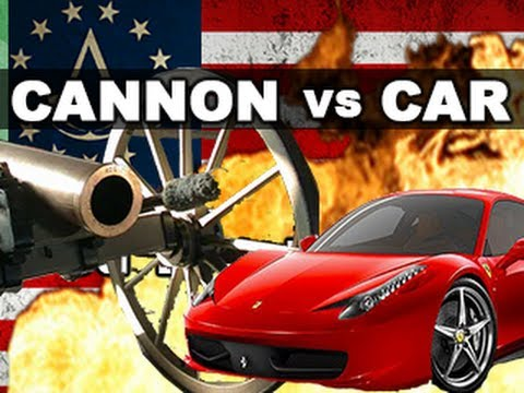 Cannon vs Car in Slow Motion: The Breakdown -- Assassin s Creed III RatedRR