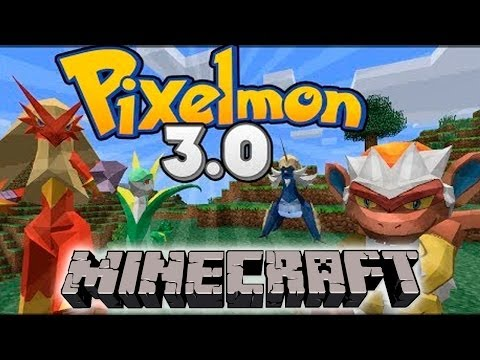 Como Instalar y Descargar PIXELMON 3.0 REVIEW   POKEMON EN MINECRAFT