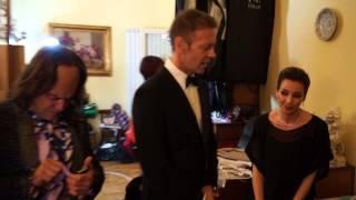 Elio e le Storie Tese a Sanremo 2013: backstage con Rocco Siffredi