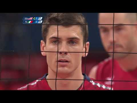 Men's Volleyball Quarterfinals - ITA vs USA | London 2012 Olympics