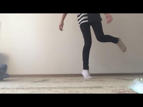 Как научиться танцевать ногами Hous Mixe Shuffle Dance