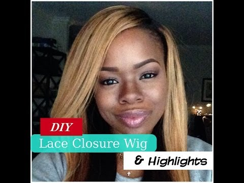 How to Make a Wig with a Lace Closure (Step by Step)