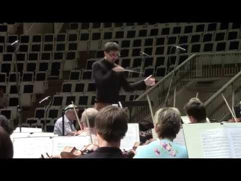 Ostapovych -  Tchaikovsky symphony №6 (fragment) Masterclass with Yuri Simonov.