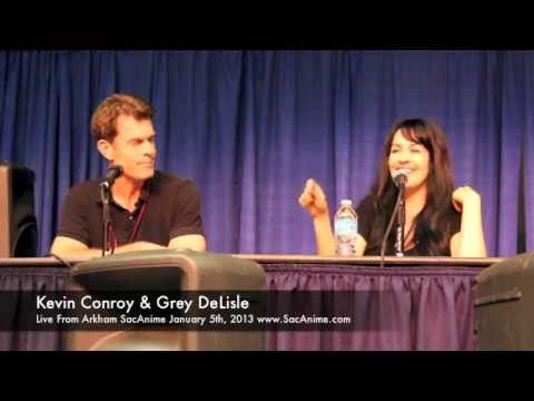Live From Arkham Part 1 SacAnime 2013 Panel With Kevin Conroy & Grey Delisle!