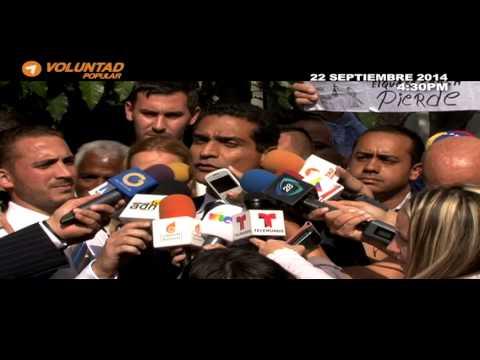 Diferida audiencia de Leopoldo Lopez para el 30 Septiembre 2014