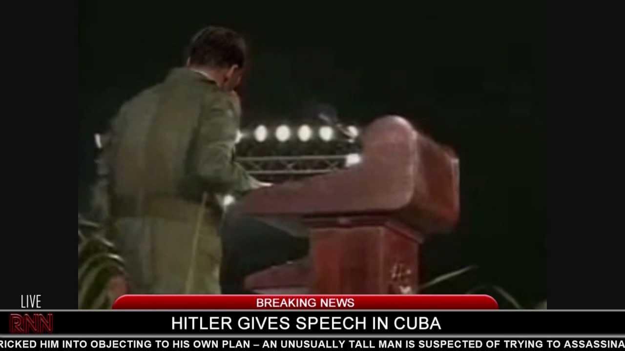 Hitler falls down