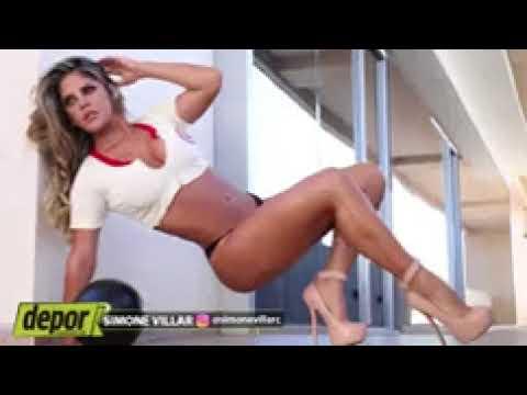 Súper Diosa Depor  Simone Villar, suspira por Universitario de Deportes
