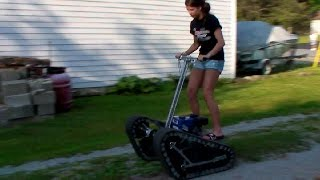 Lost Video: Magic Carpet Personal Tracked Vehicle
