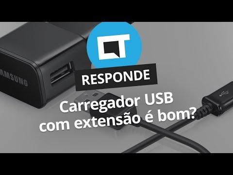 Carregador USB com extensão é bom? [CT Responde]