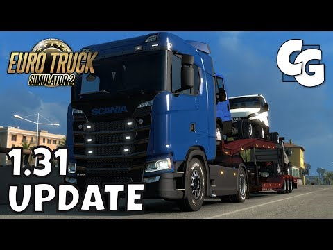 ETS2 - 1.31 Update - Random Events. Trailer Cables. and More - ETS2 Vanilla Gameplay (No Mods)