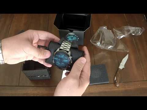 Diesel On Full Guard smartwatch unboxing