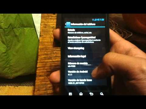 LG Optimus 2x ROM Android 4.1 Jelly Bean CM10