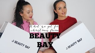WHAT WE GOT FOR CHRISTMAS FROM BEAUTY BAY - AYSE AND ZELIHA