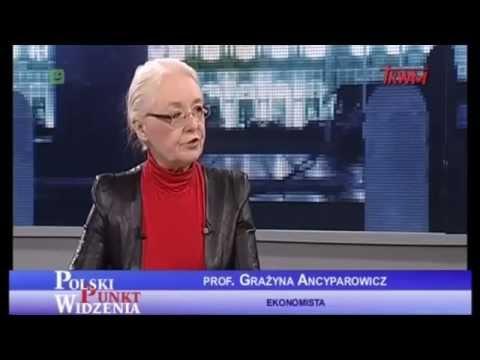 Prof. Grażyna Ancyparowicz - Kredyty We Frankach Szwajcarskich