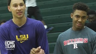 Ben Simmons Vs. Corey Sanders: 1 on 1 Game
