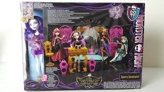Party Lounge Play Set Featuring Spectra Vondergeist   Monster High
