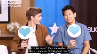 [VOSTFR] Game : Love or not - Dylan O'Brien, Thomas Brodie-Sangster & Ki Hong Lee ~Maze Runner