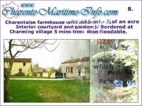 Jonzac Private Properties for Sale - Charente-Maritime - France