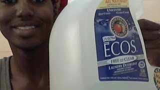 ECOS All Natural Laundry Detergent Review