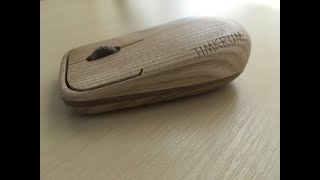 How to make a wooden mouse  on homemade cnc router