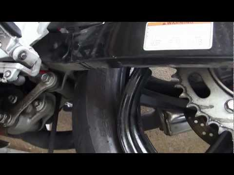 Naza Blade 250R / Hyosung GT250R accident ( Aftermath )