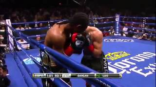 Karl Dargan vs Tony Luis 30 01 2015
