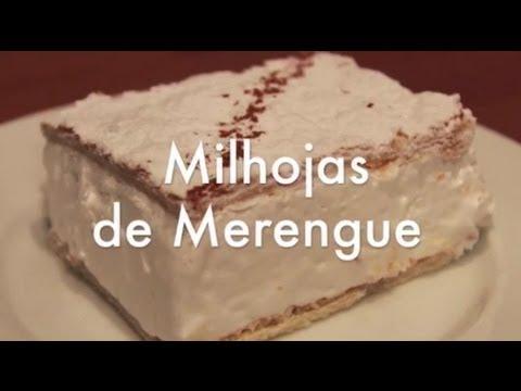 Milhojas de Hojaldre y Merengue Italiano