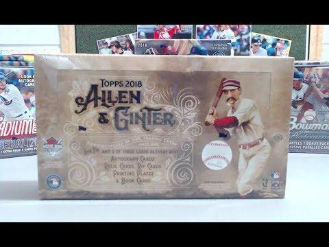 2018 Topps Allen & Ginter Hobby Box