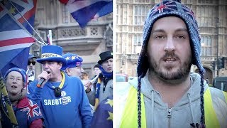 "UK Yellow Vest protester: ""It's our time, it's our country"""