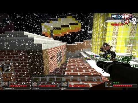 Left 4 dead 2 - Campaña Minecraft  DeathCraft- Capitulo 1 # The Town  En español