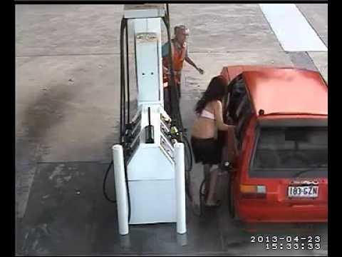 Попытка хищения бензина