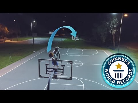 BREAKING IMPOSSIBLE BASKETBALL WORLD RECORDS!