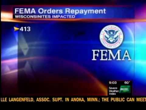 FEMA wants money from storm victims